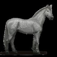 Don-Pferd Apfelschimmel