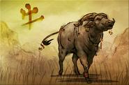 Puzzle Büffel