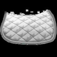 Klassische Satteldecke 2 Weiß