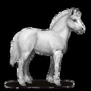 Shire Horse Fohlen Hellgrau