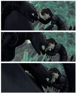 Toothless HTTYD2 Deleted Scene