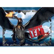 How to Train Your Dragon 2 Light Up Canvas Wall Art with BONUS LED Lights