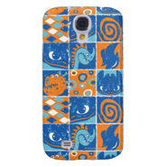 Dragon Patches Pattern Galaxy S4 Case
