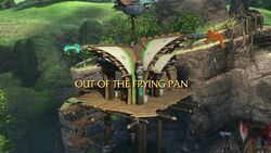 Out of the Frying Pan title card