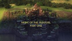 Night of the Hunters Part I title card