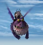 Gothi's Dragon flying