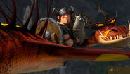 Snotlout on Hookfang HTTYD2