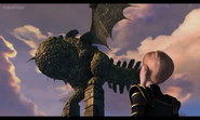 Mala and the Eruptodon