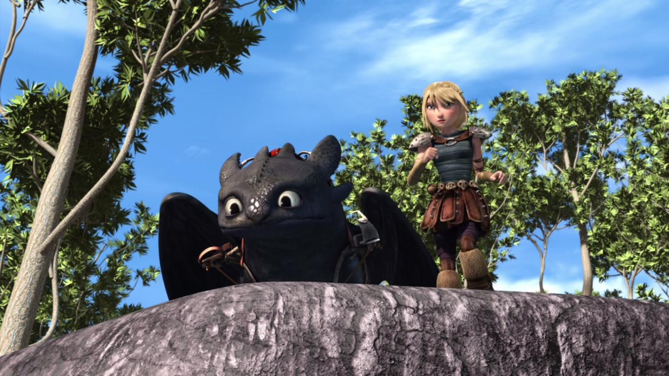 how to train your dragon 2 running time