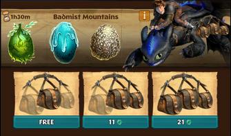 Badmist Mountain ROB