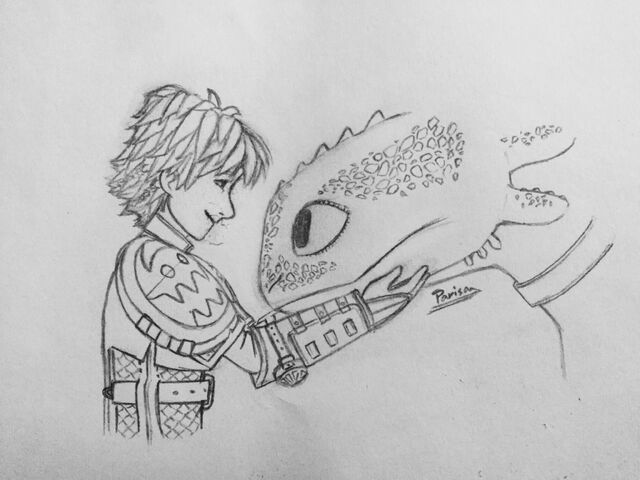 File:Hiccup and Toothless Forbidden friendship.jpeg
