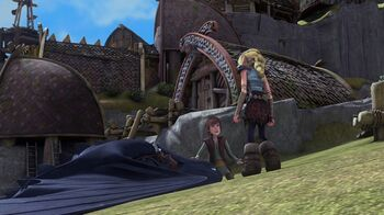 how to train your dragon toothless and windshear