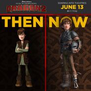 Then and Now: Hiccup