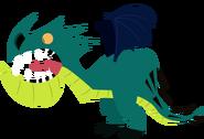 Nadder Render in Book of Dragons