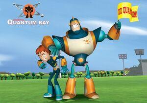 Quantum Ray on Robbie