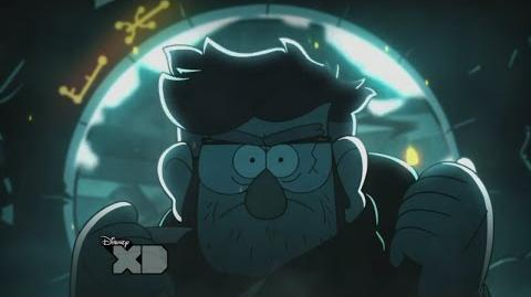Gravity Falls Epic Final Scene - The Author of the Journals