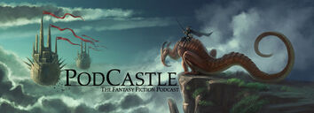 PodCastle Banner with text