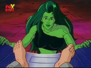 Crosseyed She-Hulk