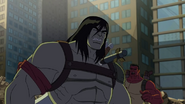 Skaar got the weapon