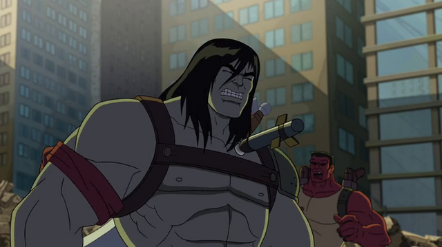 File:Skaar got the weapon.png