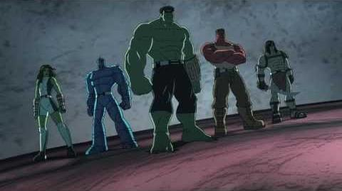Hulk And The Agents of S.M.A.S.H Family of Hulks Trailer