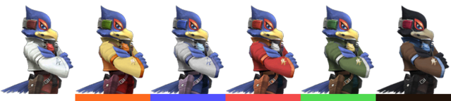 File:Falco Palette (SSBB).png