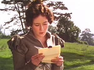 35 reading letter Pride and Prejudice