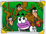 Putt-Putt and the Rhyming Monkeys