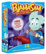 Pajama Sam Box Art New