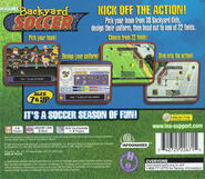 BY Soccer PlayStation Back
