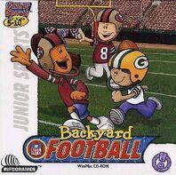Backyard Football Jewel Case