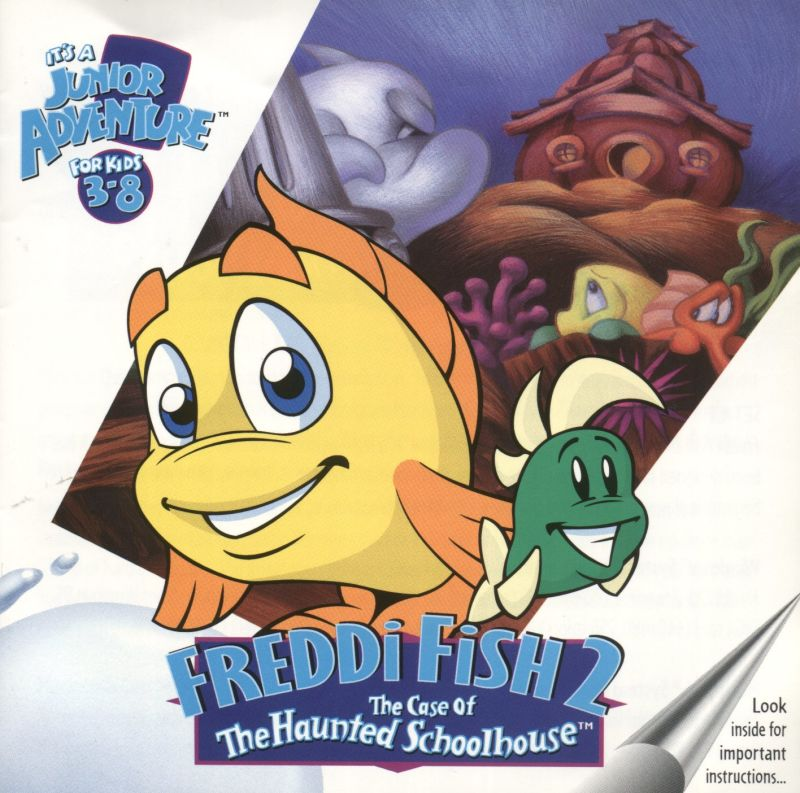 Freddi Fish 2 The Case Of The Haunted Schoolhouse