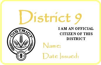 District 9 permit