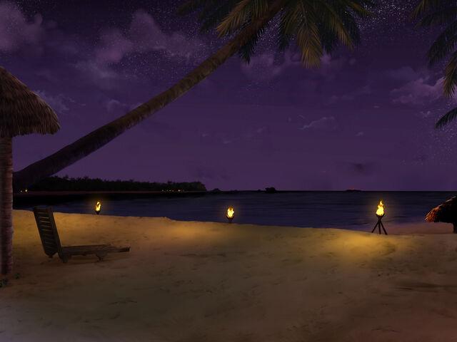 File:Turtle Bay Beach (Night).jpg