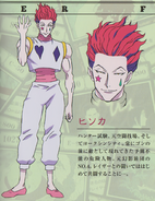Hisoka G.I Design (2011 Anime)