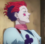 Hisoka waiting