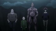 Members of the Shadow Beasts