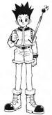 Gon color manga