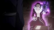 Chrollo foretelling Nobunaga's fortune