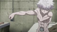 107 - Killua's body fully healed