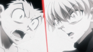 Gon and Killua Shocked