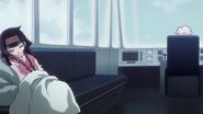 Alluka and Killua in the airship