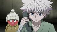 107 - Killua contacts Gon