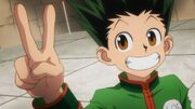 Gon wins his match at trick tower.jpg
