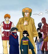 Phantom troupe in meteor city