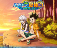 Gon And Killua Summer Event Background