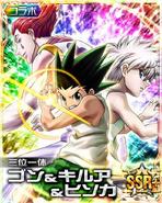Hisoka, Gon and Killua - Kira
