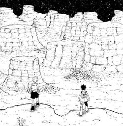 Greed Island Bad Lands Manga