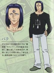 Bara G.I Design (2011 Anime)