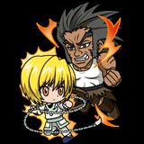 Kurapika vs Uvogin - LR Chibi